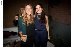 Ana Gracia Bartra y Pamela Ruiz