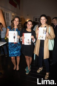 Jimena Mendoza, Valerie Nossar y Ximena Llosa