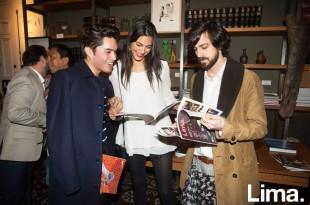 Jacques Burga, Lorena Larrviere y Lorenzo Ferreyros
