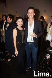 Aldana Darcourt y Mateo Cedrón