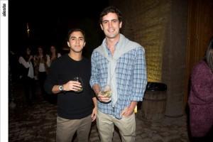 Mauricio Larrea y Diego Mufarech