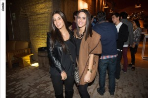 Vanessa Arauzo y Paula Gonzales