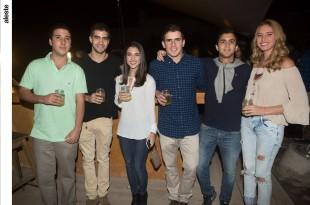 Claudio Bozzo, Alfonso Zuñiga, Florencia de la Torre, Elías Mufarech, Álvaro Larrea y Vania de Souza