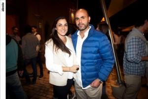 Cristina Mufarech y Marco Sabal