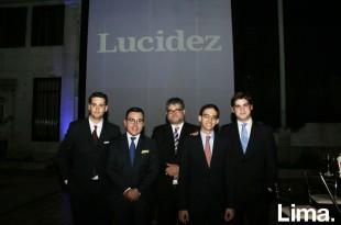 Manuel Eguiguren, Erick Urbina, Fernand Altuve, Gonzalo Ramírez y Rollin Thorne