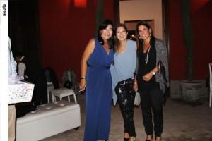Chini OZ, Mariana Riveros y Alessandra Massaro