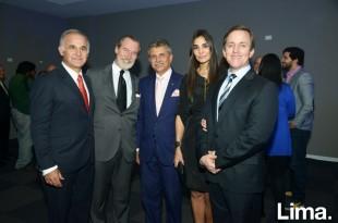 Mario Mustafá, Juan Daly, Willy Angulo, Carla de Allison y Francis Allison