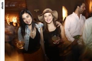 Nur Mustafá y Ariana Álvarez-Calderón