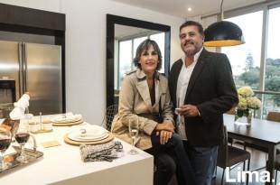 Susan Vidalón y Ricky Vega