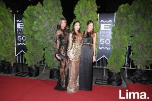 Janette Leiva, Maple Sam y Vanessa Pérez del Solar