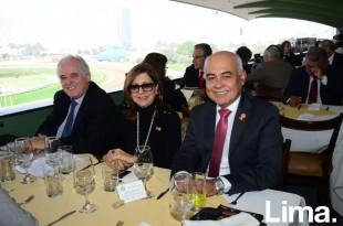 Alberto Borea, Sandra de Borea y Angel Delgado