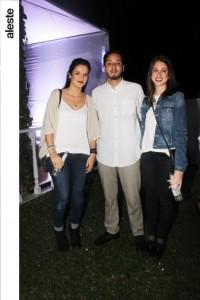 Alejandra Fernández-Concha, Sebastián Trelles y Giannina Fernandini