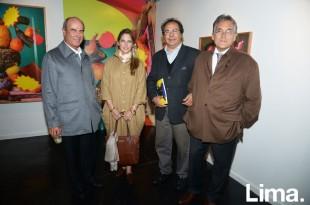 Alfredo Barreda, Carla Risso, Emilio Farah y Armando Andrade