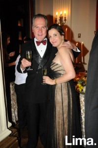 Andrés Camino y Karina Barhumi