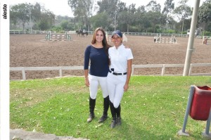 Andrea Melendez y Alexandra Abril