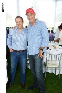 Andrew Elliot y Jorge Ramos