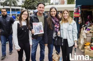 Ankitsa Bartra, Paolo Arana, Paola Falconi y Stefania Arana