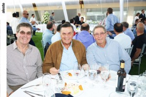 Augusto Claux, Javier Claux y Juan Alberto Claux