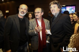 Carlos Alcantara, y Pancho Lombardi