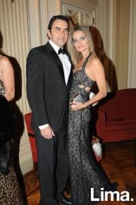 Carlos Cabieses y Jennifer Houghton