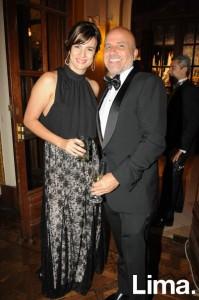 Carolina Llosa y Javier Justo
