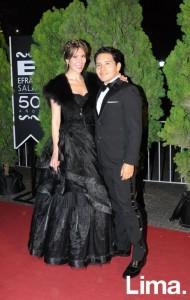 Claudia Jiménez y Fabio Jurado