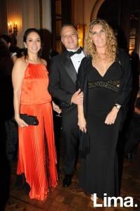 Claudia Vignati, Víctor Naranjo y Griselle Guerrini