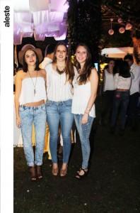 Daniella Silgado, Maria Paz Picasso y Michelle Regal