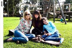 Rachel Knott, Deborah Denegri y Martina O'Connor en Los Altos De Mamacona.