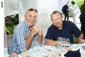 Eduardo Freundt y Patrick Cooper