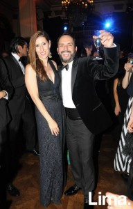 Erika Lang y Efraín Salas