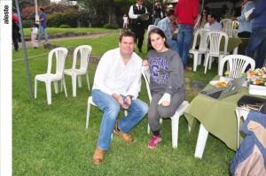 Ernesto Velarde y y Nicole Santolalla