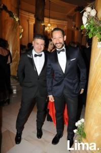 Gerardo Larrea y Antonio Choy-Kay