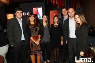 Christian Alvarado, Loudes Carlos, Úrsula Gonzales del Valle, Elizabeth Balbuena, Andrés Salvador, Diego Gordillo y Mary Luz Vera