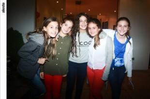 Marina Nacach, Ana Cristina Lizier, Domenica Loor, Nicole Stiglich y Abril Tremouilles