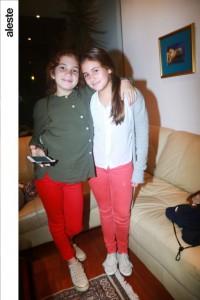 Ana Cristina Lizier y Nicole Stiglich