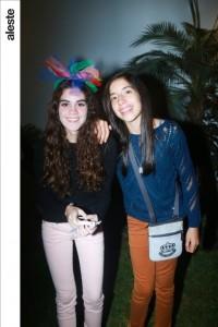 Javiera Villacura y Ana Lucía Loayza