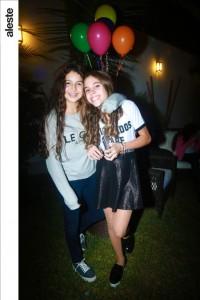 Domenica Loor y Alejandra Escobar