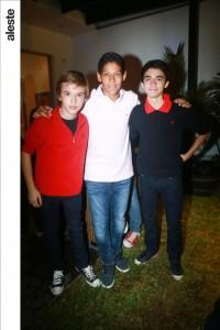 Mateo Melgar, Joaquín Alcántara y Giacomo Cedrón