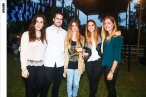 Carolina Miró Quesada, Jorge Ramos, Thalia Bazo, Stephanie Zimmermann y Pamela Ruiz