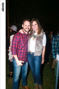 David Fernández y Cindy Sandoval