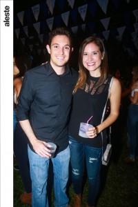Rafael Lemor y Adriana Alayza