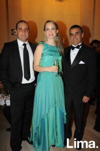 Iván Vasco, Luciana Pajares y Juan Carlos Rubio