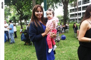 Roxana Larrabure e Isabella Pesaque