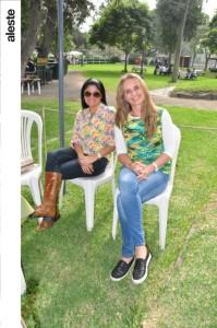 Jackie Kruger y Maria Fé Frisancho