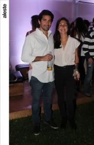 Jair Alcazar y Ariana Cisneros
