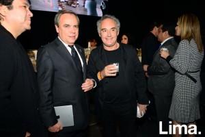 Javier Manzanares y Ferran Adrià