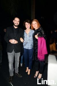 Jesus Morate, Almudena Bermejo y Madgalena Brier
