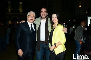 Julio Almendariz, Jack Gomberoff e Inés Gierke