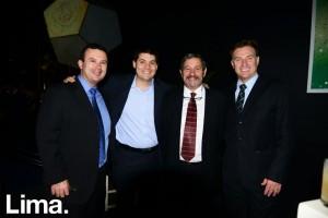 Juna Carlos Coquis, Francisco Pérez, Alejandro Jiménez, y Fernando Gainza